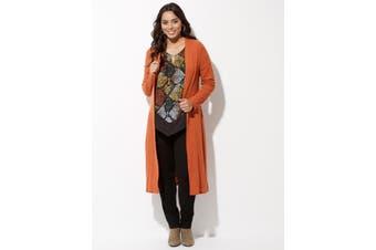 Women's Crossroads Longline Rib Cardigan | Cardigans Knitwear