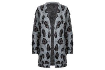 Women's Rockmans Crossroads Fluffy Animal Cardigan | Cardigans Knitwear