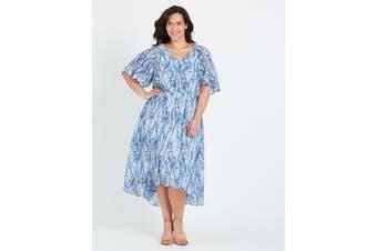 Women's Autograph Chiffon Hi Low Dress - Plus Size   Dresses