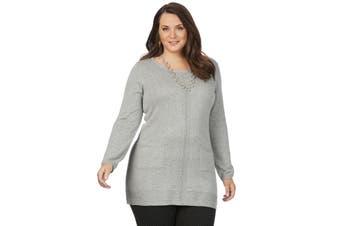 Women's Beme Lsv Pocket Jumper - Plus Size | Jumper Knitwear