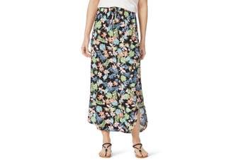 Women's Rockmans Tropical Maxi Print Skirt | Bottoms Skirts
