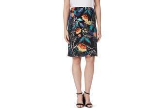 Women's Rockmans Colour Floral Print Pencil Skirt | Bottoms Skirts
