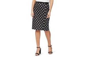 Women's Rockmans Knee Length Ponte Skirt | Bottoms Skirts
