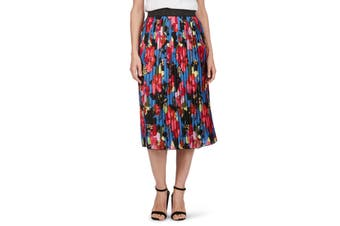 Women's Rockmans Pleated Midi Skirt | Bottoms Skirts