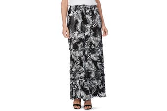 Women's Rockmans Ruffle Maxi Skirt | Bottoms Skirts
