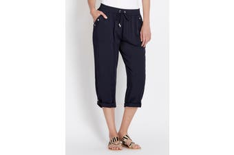 Women's Rockmans Crop Turnback Cuff Pant | Bottoms Pants