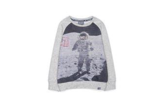 Boys Rivers Pumpkin Patch Astronaut Crew Sweater | Knitwear