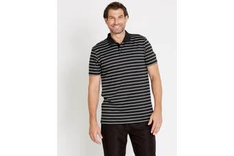 Mens Rivers Feeder Stripe Polo | Active Leisure Wear