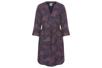 Womens Rivers 3/4 Sleeve Button Through Dress   Dresses