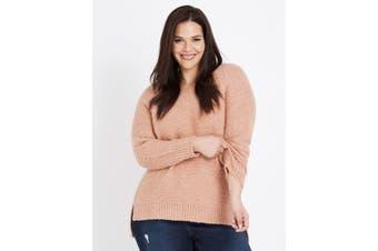 Women's Autograph Hi Low Soft Jumper - Plus Size   Jumper Knitwear