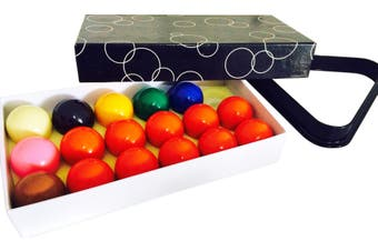BRAND NEW Snooker Balls 1 & 7/8 inch 10 Red Set and Triangle