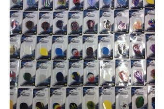 10 x Sets Assorted Dart Board Dart Flights