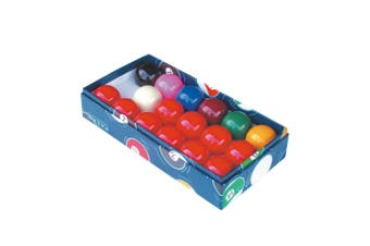 Snooker Table Balls - 2 inch - 17 Ball Set - Colour Box