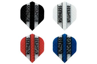 FORMULA Ruthless Embossed Standard Dart Board Darts Flights 4 Sets