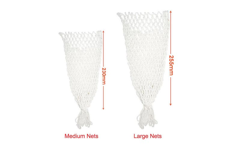 Medium Replacement Pool Snooker Billiard Table Ball Pocket Nets Bags