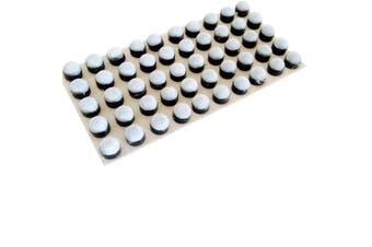 VALUE 50 x Bulk Buy Pool Snooker Billiard Cue Screw in Soft Pool Cue Tips 13mm