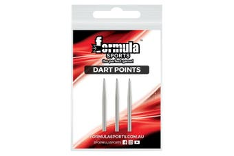 Quality Dart Points Set of 3 Chrome Steel 32mm