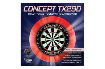FSA TX290 Genuine Bristle Sisal Dart Board