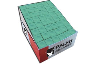 BULK Pool Snooker Billiard Table Cue Chalk Green 144 Cubes