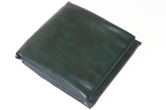 Fitted Heavy Duty Vinyl 8ft Pool Snooker Billiard Table Cover (Green)