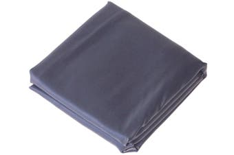 Fitted Heavy Duty Vinyl 8ft Pool Snooker Billiard Table Cover (Blue)