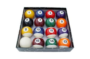 Pool Snooker Billiard Balls 2 inch - 16 Ball Set Big's Little's