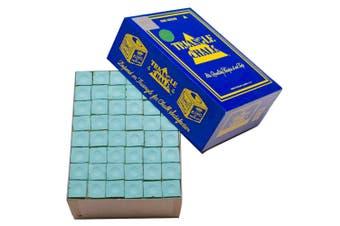 Quality TRIANGLE BULK Pool Snooker Billiard Table Cue Chalk Green 144 Cubes