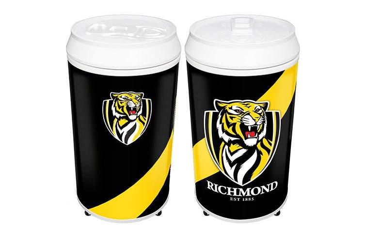 Richmond Tigers AFL Cooler Can 40 Litre Bar Fridge