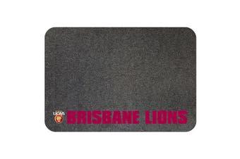 Brisbane Lions AFL BBQ Mat LARGE, Fire retardant Decks & Patios
