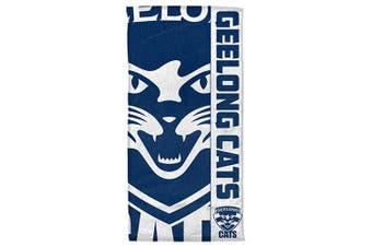 Dick Smith Geelong Cats Afl Beach Bath Towel Sports Collectables
