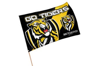 Richmond Tigers AFL GAME DAY Pole Flag Banner