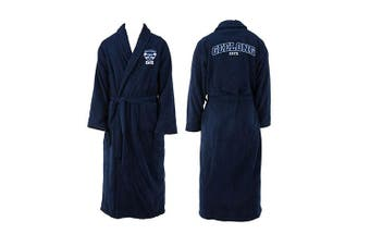 Geelong Cats AFL Youth Kids Dressing Gown Robe Size 10-12