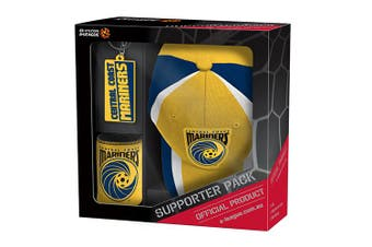 Central Coast Mariners A-League Can Cooler Embroidered Hat Cap Key Ring