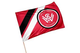 Western Sydney Wanderer A-League Game Day Pole Flag Banner