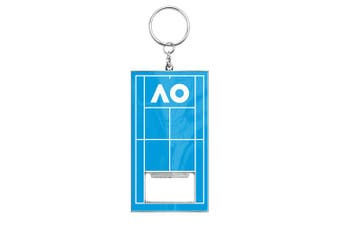 Australian Open Tennis Melbourne 2020 Logo In Court Bottle Opener Keyring