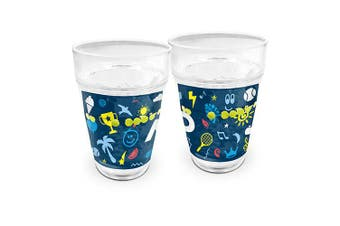 Australian Open Tennis Tumbler with Floating Balls Summer