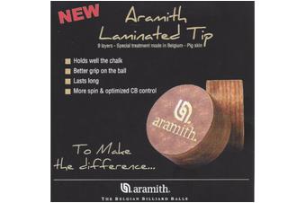 Aramith Pool Snooker Billiard Laminated Cue Tips 13mm Medium