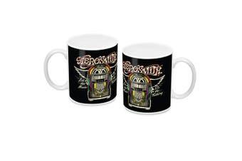 AEROSMITH Let the Music Do the Talking Ceramic Coffee Mug Cup