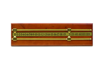 Rectangle Pool Billiard Table Snooker Scoreboard Maple and Brass