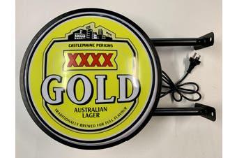 XXXX Gold Lager Beer Bar Lighting Wall Sign Light LED