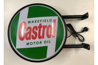 CASTROL MOTOR OIL Bar Lighting Wall Sign Light LED