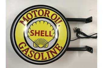 SHELL MOTOR OIL Gasoline Bar Lighting Wall Sign Light LED