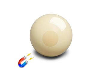 "Aramith Premier 2"" inch MAGNETIC White Pool Snooker Billiard Cue Ball"