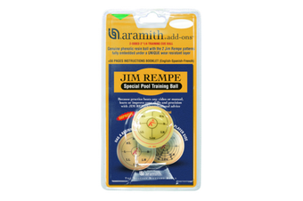 "Aramith Jim Rempe Training 2 & 1/4"" inch Snooker Pool Billiard Cue Ball"