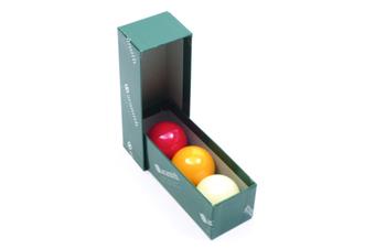 Billiard Ball Set 2 & 1/16 inch Aramith Premier Tri Colour Set
