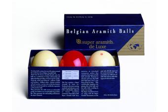 Aramith Super Deluxe Carom Billiard Balls Set 2 & 1/16 inch