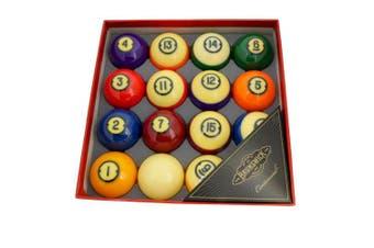 "Aramith Brunswick Kelly Pool Centennial Pocket Balls 2 & 1/4"" inch"