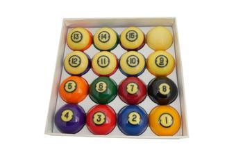 "Aramith Brunswick Kelly Pool Gold Crown Pocket Balls 2 & 1/4"" inch"