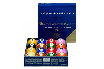 """Aramith Pro Cup TV Kelly Pool Balls Measle Cue Ball 2 & 1/4"""" inch"""