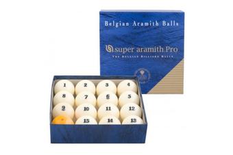 Aramith Russian Superpro Pyramid Kelly Pool Snooker Billiard Balls 68mm